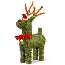"National Tree 8"" Evergreen Reindeer"