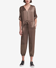 DKNY Cropped Jumpsuit, Created for Macy's