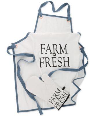 Farm to Table Apron and Mitt