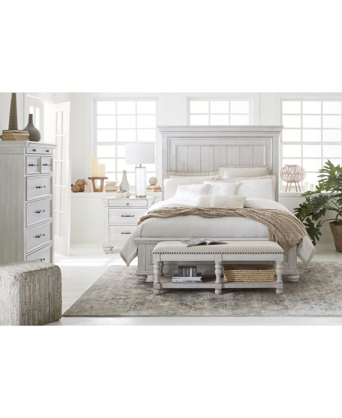 Furniture Quincy Bedroom Furniture, 3-Pc. Set (Queen Bed, Nightstand & Chest), Created for Macy's & Reviews - Furniture - Macy's