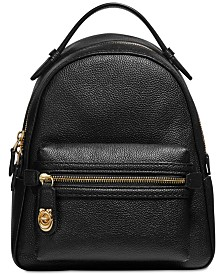 COACH Campus Backpack in Polished Pebble Leather