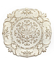 Stratton Home Decor White European Medallion Wall Decor