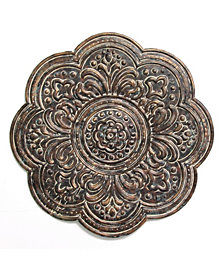 Stratton Home Decor Rustic Bronze Medallion Wall Decor