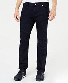 A|X Armani Exchange Men's J27 Slim-Fit Navy Jeans