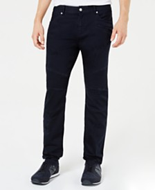 A|X Armani Exchange Men's J27 Slim-Fit Navy Jeans