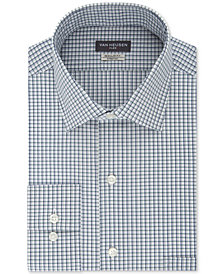 Van Heusen Men's Classic/Regular Fit Wrinkle Free Flex Collar Stretch Check Dress Shirt