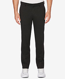 Perry Ellis Men's Slim Tonal Pattern Knit Pants