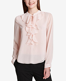 Tommy Hilfiger Ruffled Blouse