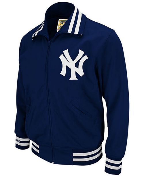 newest 9f4a0 f96f0 Men's New York Yankees Authentic Full-Zip BP Jacket