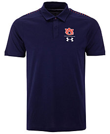 Under Armour Men's Auburn Tigers Pinnacle Polo