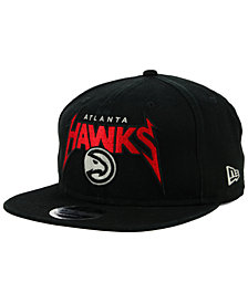 New Era Atlanta Hawks 90s Throwback Groupie 9FIFTY Snapback Cap