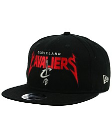 New Era Cleveland Cavaliers 90s Throwback Groupie 9FIFTY Snapback Cap