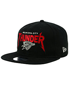 New Era Oklahoma City Thunder 90s Throwback Groupie 9FIFTY Snapback Cap