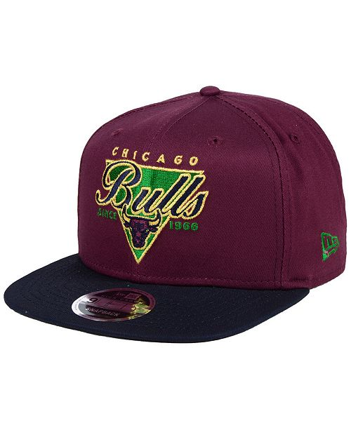 finest selection cd8be 5dce4 ... New Era Chicago Bulls 90s Throwback 9FIFTY Snapback Cap ...