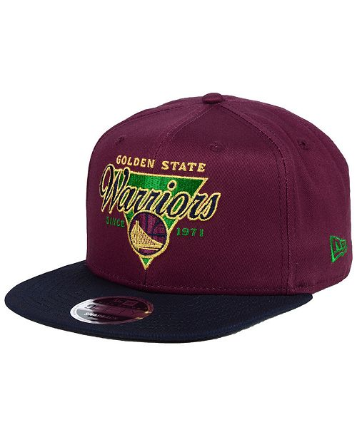 ef367f2f1bb ... New Era Golden State Warriors 90s Throwback 9FIFTY Snapback Cap ...