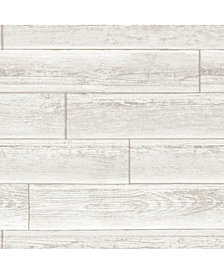Serene Cream Peel and Stick Wallpaper