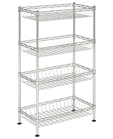 Aventura Basket Rack, Quick Ship