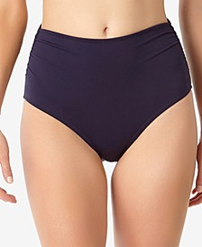 Live In Color High-Waist Swim Bottoms