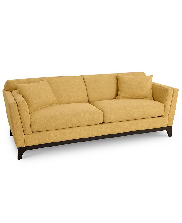 "Furniture Cistella 86"" Fabric Sofa, Created for Macy's"