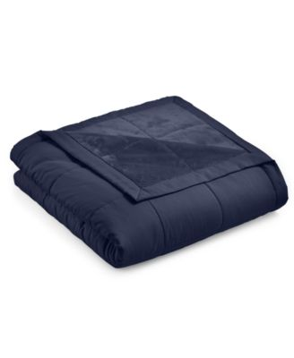 CLOSEOUT! Down Alternative Reverse to Plush Twin Blanket, Created for Macy's