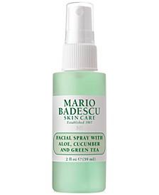 Facial Spray With Aloe, Cucumber & Green Tea, 2-oz.