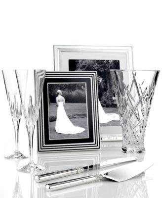 Vera Wang Wedgwood Grosgrain 5 X 7 Frame Picture Frames Macys