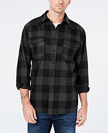 Pendleton Men's Guide Buffalo Check Wool Shirt