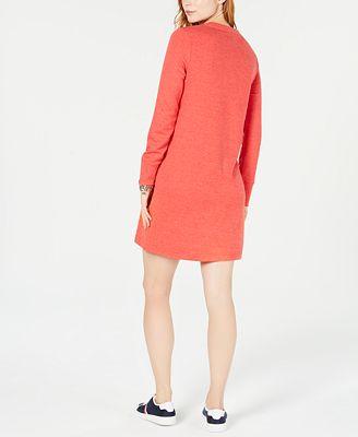 Tommy Hilfiger Logo Sweatshirt Dress Created For Macys Dresses