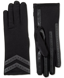 Isotoner Signature Women's smartDRI® Chevron Stretch Touchscreen Gloves
