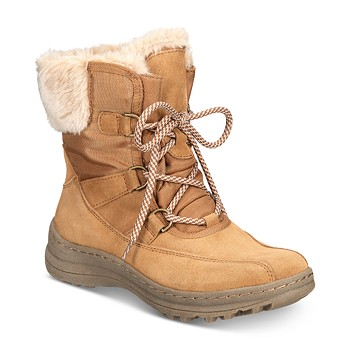 BareTraps Baretraps Womens Aero Suede Ankle Winter Boots