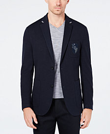 Ryan Seacrest Distinction™ Men's Slim-Fit Crested Knit Blazer, Created for Macy's