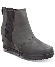 Sorel Women's Joan of Arctic Wedge II Waterproof Chelsea Booties
