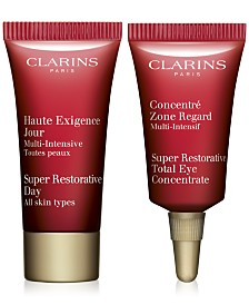 Free 2pc Skincare Solutions gift with $100 Clarins purchase
