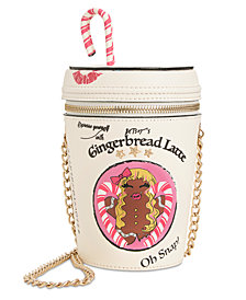 Betsey Johnson Gingerbread Latte Crossbody