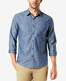Dockers® Men's Slim-Fit Chambray Shirt