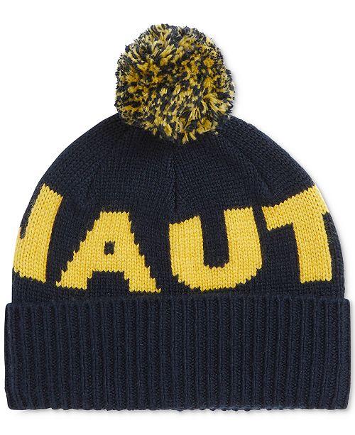 dff5a7f275a Nautica Men s Logo Pom Hat - Hats
