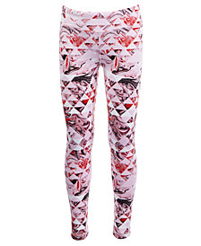 Ideology Little Girls Geo-Print Leggings, Created for Macy's