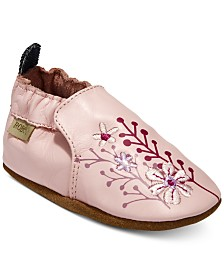 Robeez Baby Girls Blooming Floral Shoes