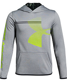Under Armour Big Boys Armour Fleece Logo-Print Hoodie
