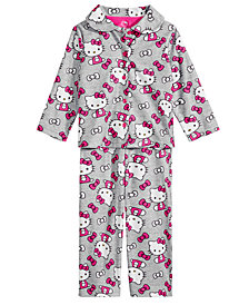 Hello Kitty Toddler Girls 2-Pc. Printed Pajama Set
