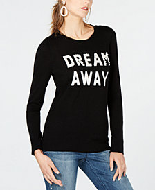 I.N.C. Embellished Dream Away Sweater, Created for Macy's