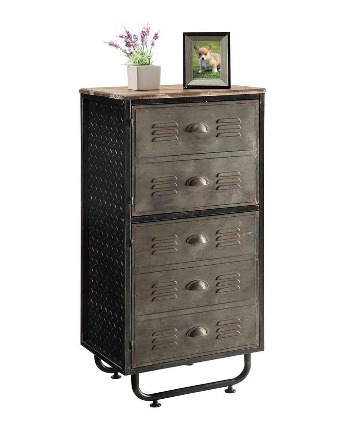 4D CONCEPTS - Locker Collection 2 Door Bookcase