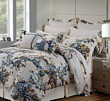 Tribeca Living Casablanca 12-Pc. Cotton King Comforter Set