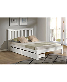 Barcelona Queen Bed with Storage Drawers