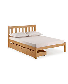 Poppy Full Bed with Storage Drawers