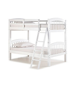 Spindle Twin Over Twin Bunk Bed