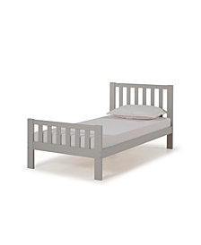 Aurora Twin Bed, Dove Gray