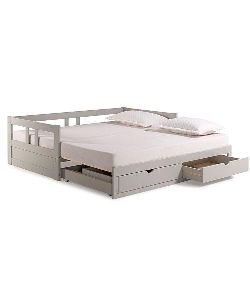 Melody Twin To King Trundle Daybed