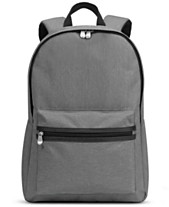 10c96ebe4075 BLANKSLATE by Solo Men s Blankslate Gray Backpack