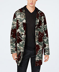 INC Men's Camo-Print Flocket Parka, Created for Macy's